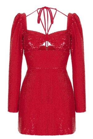 Rasario Sequin Mini Dress