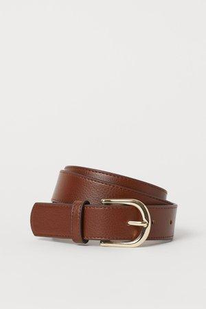 Belt - Brown - Ladies   H&M GB