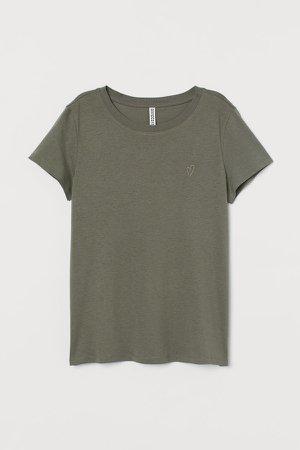 Jersey T-shirt - Green