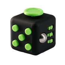Fidget Toy Cube Stress Anxiety Relief Desk Relief 6 Sided For Adults Kids Focus - Walmart.com