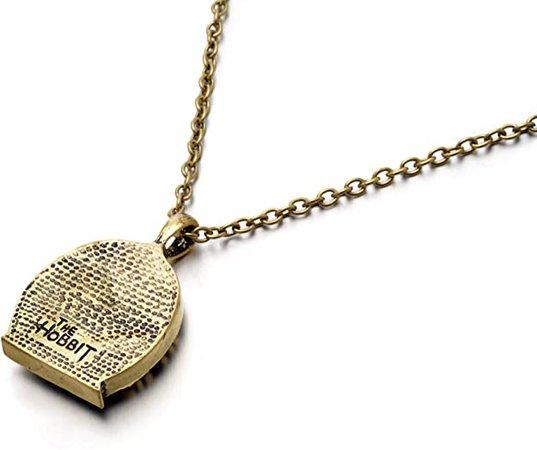 Amazon.com: Hobbit Green Fairy Bilbo Door Pendant LOTR Locket necklace opens US Seller (Necklace): Jewelry