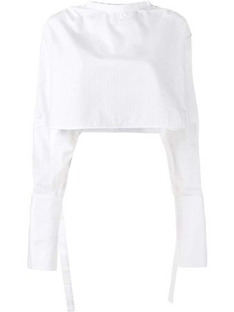 Ellery Hallucinate cropped top