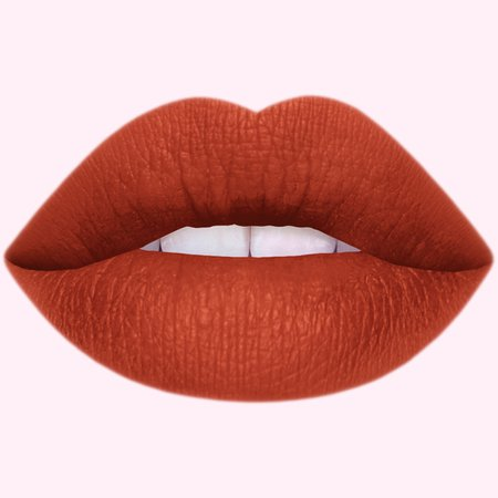 Pumpkin Latte Matte Lipstick in Brick Red - Lime Crime