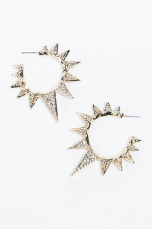 JAGGER SPIKE EARRING in color gold