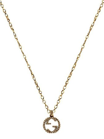 Gucci 18kt yellow gold GG necklace $2,900 - Buy Online - Mobile Friendly, Fast Delivery, Price