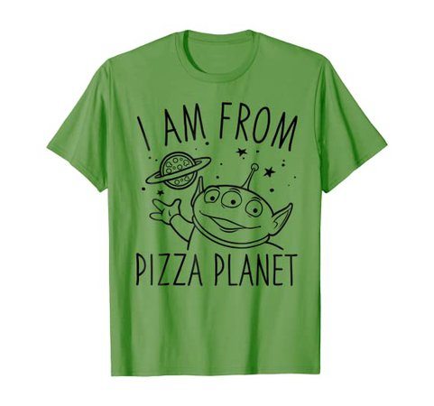 Amazon.com: Disney Pixar Toy Story Alien Pizza Planet Graphic T-Shirt: Clothing