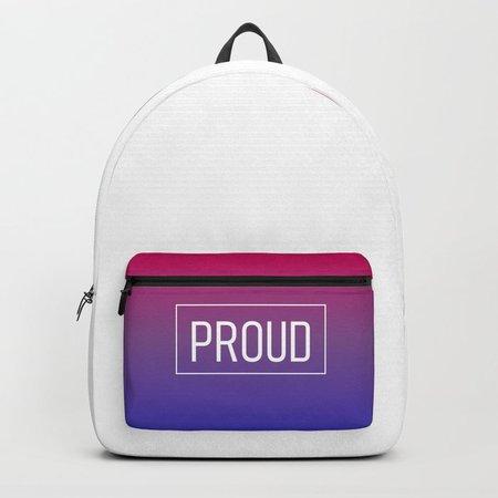 Bisexual backpack