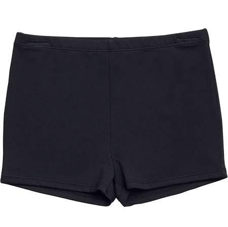 Jacques Moret Girls' Basic Dance Shorts, Size: Small, Black