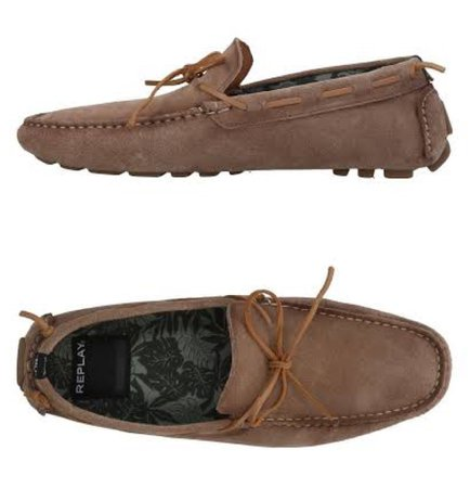 brown loafers shoes