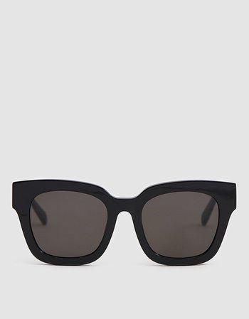Saga Sunglasses in Black