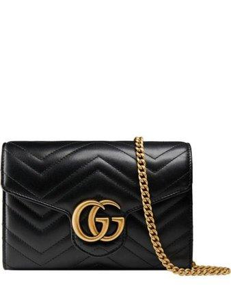 Gucci Bolso GG Marmont Mini En Matelassé - Farfetch