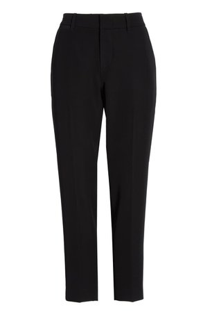 Vince Flat Front Crop Trousers   Nordstrom