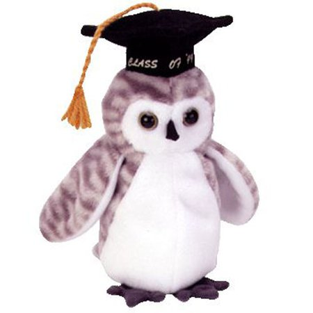 TY Beanie Baby - WISER the 1999 Owl (7 inch): BBToyStore.com - Toys, Plush, Trading Cards, Action Figures & Games online retail store shop sale