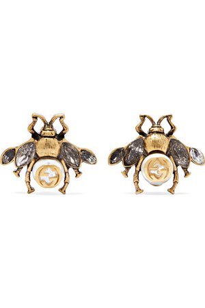 Gucci Bug Earrings