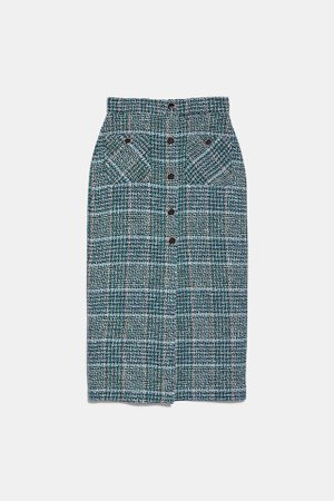 TWEED PENCIL SKIRT | ZARA Germany