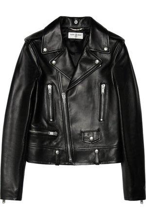 Saint Laurent | leather biker jacket