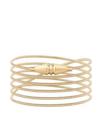 18Kt Yellow Gold Jack De Boucheron Wrap Bracelet Continuity | Farfetch.com