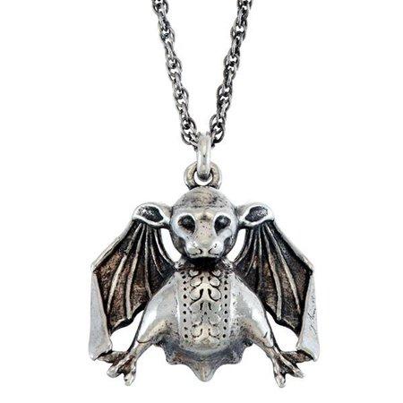 Batty Gargoyle Charm Necklace – RockLove Jewelry