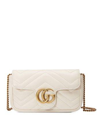 Gucci Super Mini GG Marmont Crossbody Bag - Farfetch