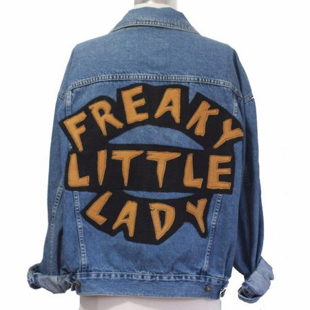 Freaky Little Lady Jean Jacket – VidaKush