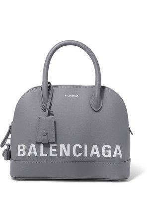 Balenciaga | Ville small printed textured-leather tote | NET-A-PORTER.COM