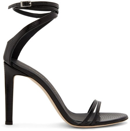 Black Catia Heeled Sandals