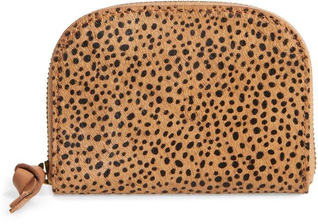 The Zip Genuine Calf Hair Wallet