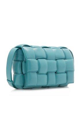 Cassette Padded Intrecciato Leather Shoulder Bag By Bottega Veneta | Moda Operandi