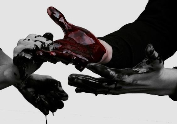 C A T.S A M S      4.   Pinterest   Blood, Hands and Dark