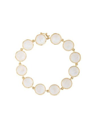 Irene Neuwirth 18kt Yellow Gold Moonstone Bracelet