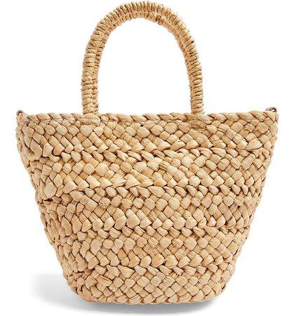 Topshop Rhodes Mini Straw Tote Bag | Nordstrom