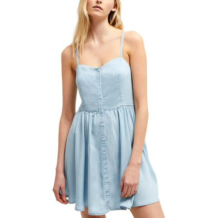 French Connection - French Connection Womens Julienne Tencel Sleeveless Casual Dress - Walmart.com - Walmart.com