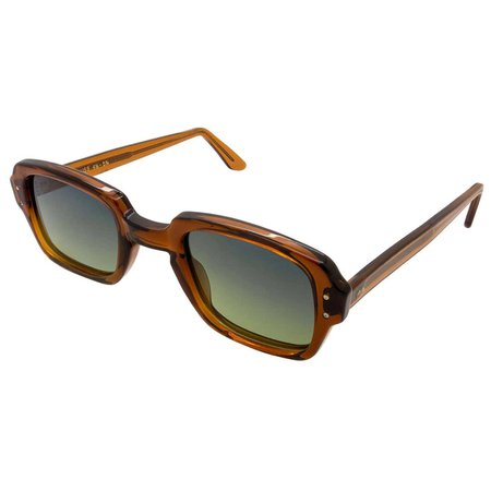 US Army 80s square vintage sunglasses For Sale at 1stDibs