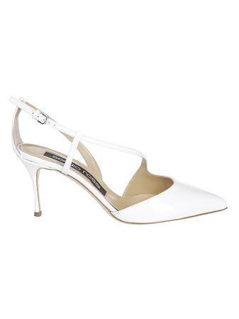 Sergio Rossi Cut-detail Pumps
