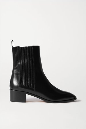 Black Neil leather Chelsea boots | aeyde | NET-A-PORTER