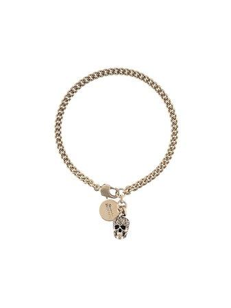 Alexander McQueen skull charm bracelet - FARFETCH