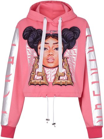 Fendi Fendi Prints On Cropped Hoodie - Farfetch