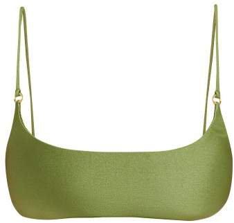 Hinge Bikini Top - Womens - Green