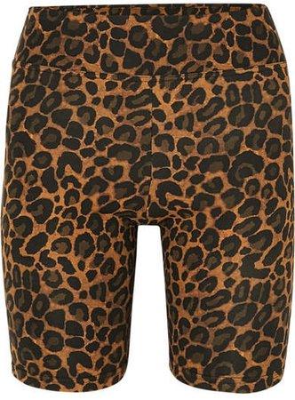 Fisch - Nevis Leopard-print Bikini Shorts - Leopard print