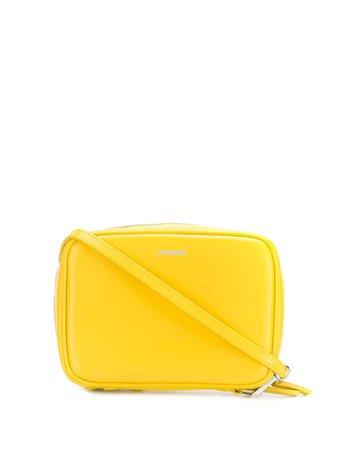 Yellow Jil Sander Clutch Bag | Farfetch.com