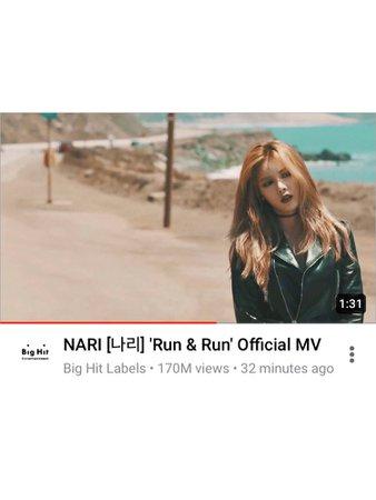 BITTER-SWEET 'Run & Run' MV (NARI)