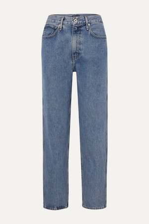 Levi's Made & Crafted   The Column mid-rise straight-leg jeans   NET-A-PORTER.COM