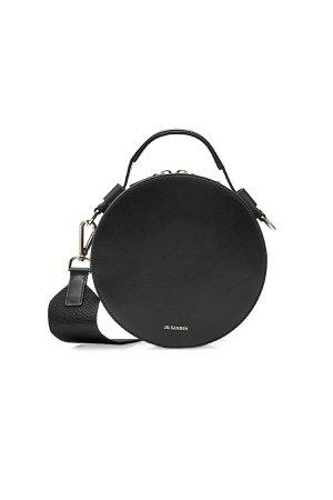 Drum Leather Shoulder Bag Gr. One Size