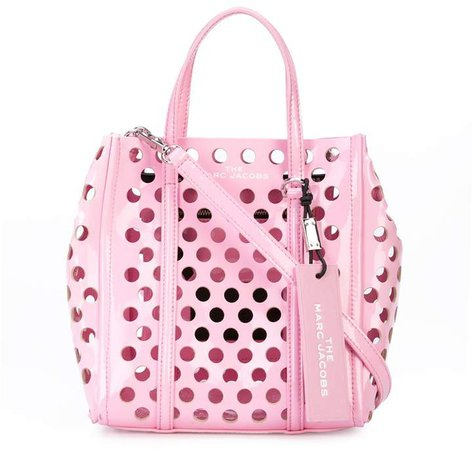 mini The Tag perforated tote