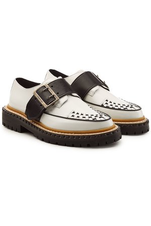 Mason Buckle Strap Leather Creepers Gr. IT 38