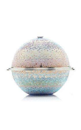 Saturn Sphere Crystal Clutch by Judith Leiber Couture | Moda Operandi