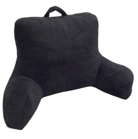 black back pillow