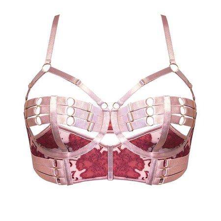 Amaya Adjustable Bodice Bra – Bordelle: Luxury Lingerie, Bodywear, Swimwear and Accessories | Designer Bondage Inspired Lingerie