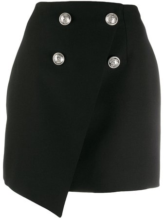 Balmain double-breasted Asymmetric Skirt - Farfetch