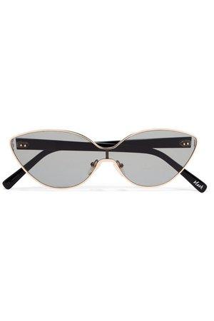 Elizabeth and James | Mack cat-eye gold-tone sunglasses | NET-A-PORTER.COM